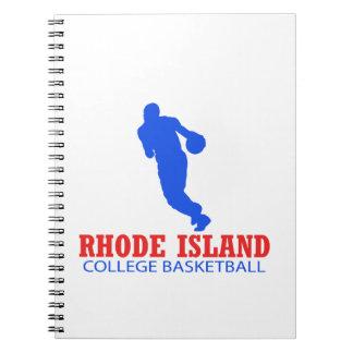cool Rhode Island basketball DESIGNS Spiral Notebook