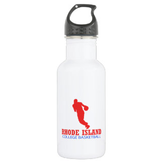 cool Rhode Island basketball DESIGNS Stainless Steel Water Bottle