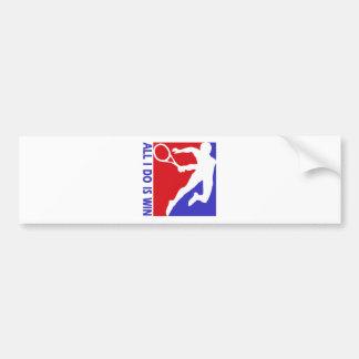 Cool Rhythmic lawn tennis designs Bumper Stickers