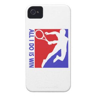 Cool Rhythmic lawn tennis designs Case-Mate iPhone 4 Cases