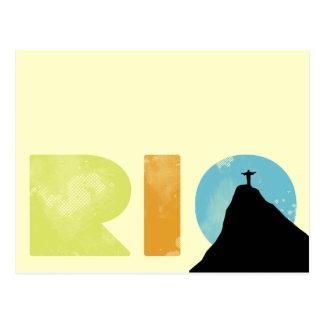 Cool Rio Postcard