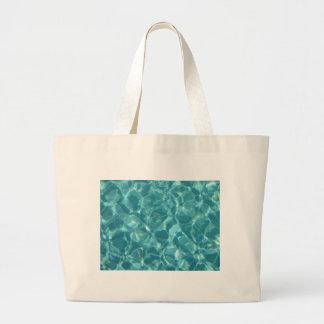Cool ripples of water jumbo tote bag