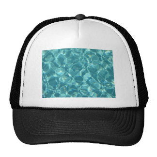 Cool ripples of water trucker hat