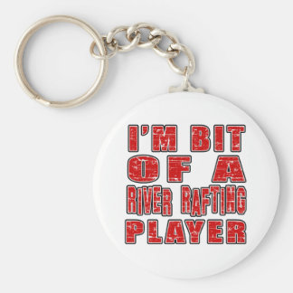 Cool River Rafting Designs Keychains