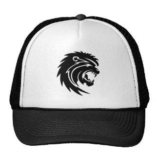 Cool Roaring Lion Silhouette Hat