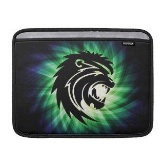 Cool Roaring Lion Silhouette MacBook Air Sleeves