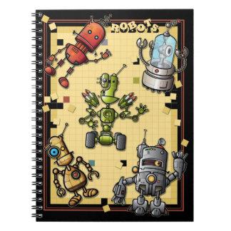 Cool Robot Gang Notebook