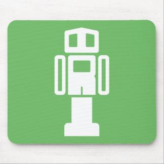 Cool Robot Puzzle Mousepad