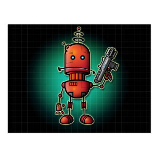 Cool Robot Sam Postcard