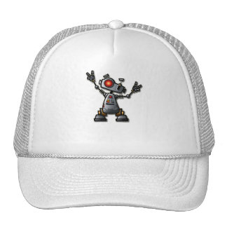 Cool Robot Trucker Hat