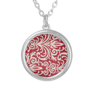 Cool Robust Refreshing Gregarious Round Pendant Necklace