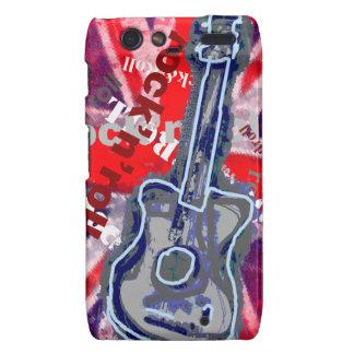 cool rock guitar music droid RAZR case