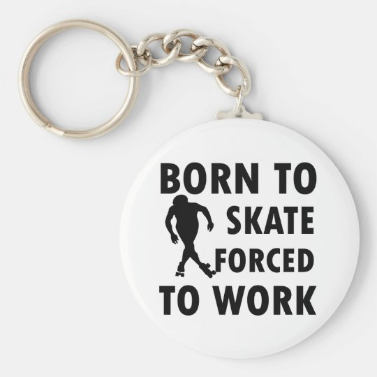 Cool Roller Skate Designs Keychain
