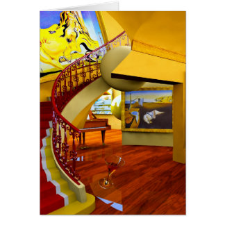 Cool Rooms by Lenny art Greeting Card