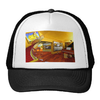 Cool Rooms by Lenny art Trucker Hat