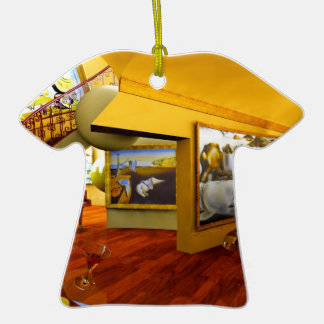 Cool Rooms by Lenny art Christmas Tree Ornament