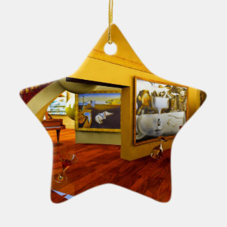 Cool Rooms by Lenny art Christmas Tree Ornaments