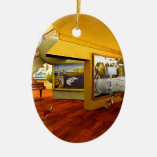 Cool Rooms by Lenny art Christmas Ornament