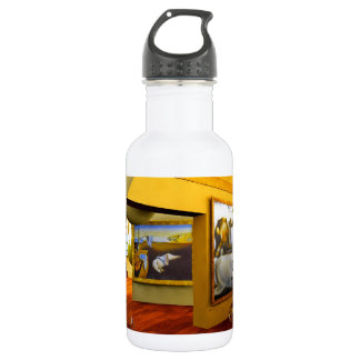 Cool Rooms by Lenny art 18oz Water Bottle