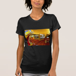 Cool Rooms by Lenny art T-shirt