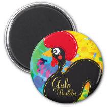 Cool Rooster of Portugal #01 - Galo de Barcelos Magnet
