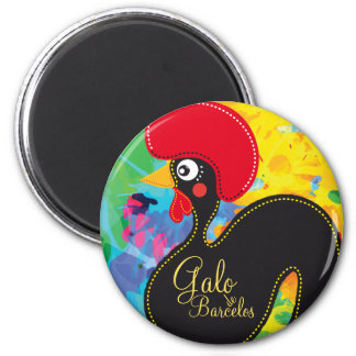 Cool Rooster of Portugal #01 - Galo de Barcelos Magnet