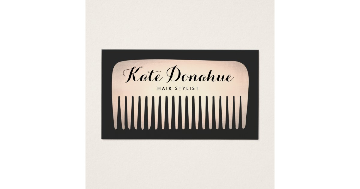 Hair Comb Business Cards & Templates | Zazzle