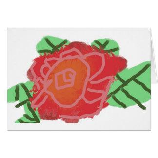cool rose greeting cards
