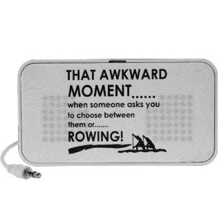 Cool rowing  designs travelling speakers