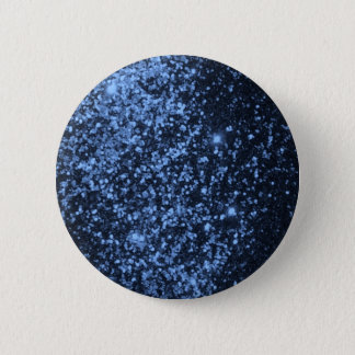COOL ROYAL BLUE BLACK SPARKLE GLITTER BACKGROUND P PINBACK BUTTON