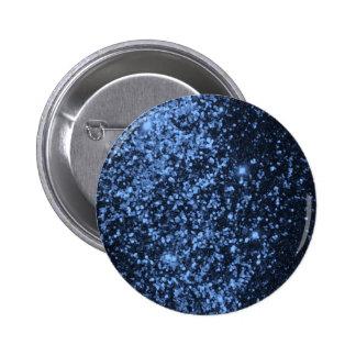 COOL ROYAL BLUE BLACK SPARKLE GLITTER BACKGROUND P PINBACK BUTTON