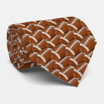 Cool Rugby | American Football Pattern Tie
