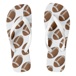 Cool Rugby Pattern Sport Gift Flip Flops