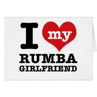 Cool Rumba designs Card