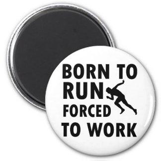 Cool Running Designs 2 Inch Round Magnet