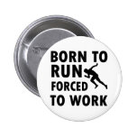 Cool Running Designs Pinback Buttons
