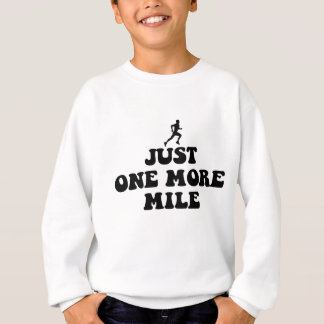 Cool running saying sweatshirt