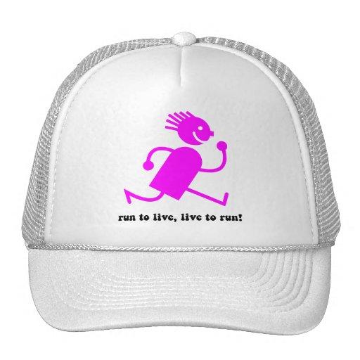 cool running trucker hats zazzle