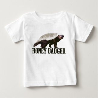 Cool Rustic Honey Badger Baby T-Shirt