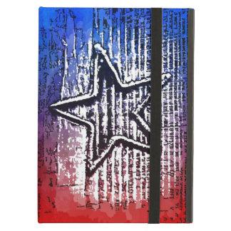 Cool Rustic Lone Star Pop Art Print iPad Air Case