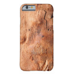 Cool Rustic Wood Texture Look Pattern Barely There iPhone 6 Case