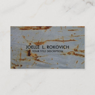 Cool rusty business cards templates zazzle cool rusty grunge generic business card template colourmoves