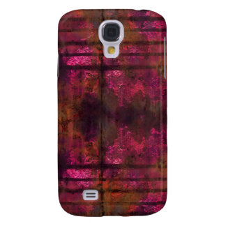 Cool Rusty Metal iPhone 3 Cover Pink 2