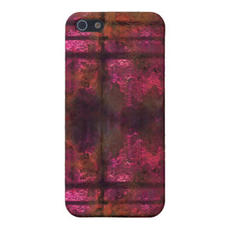 Cool rusty metal iPhone Pink 2 iPhone SE/5/5s Cover
