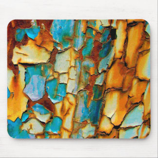 Cool Rusty Paint Rust Old Paintwork Cracked Mouse Pad