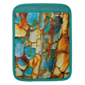Cool Rusty Paint Rust Paintwork Cracked texture iPad Sleeves