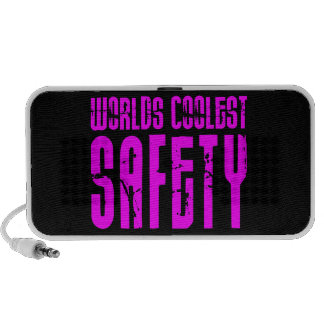 Cool Safeties + Pink : Worlds Coolest Safety Mini Speakers