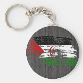 Cool Sahrawi flag design Key Chains