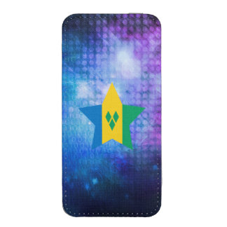 Cool Saint Vincent and the Grenadines Flag Star iPhone 5 Pouch