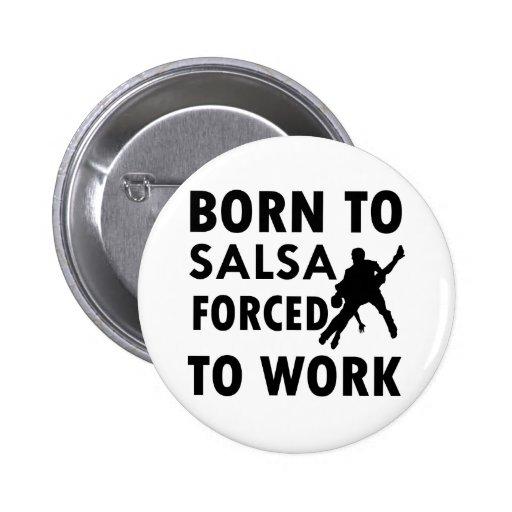 Cool Salsa Designs 2 Inch Round Button